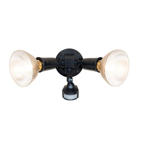 brass motion sensor outdoor lighting all pro 110 degree bronze outdoor motion activated