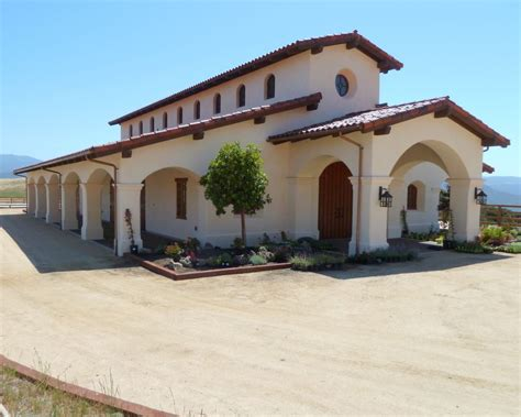 Spanish Mediterranean Andalusian Equestrian Center Moore Design