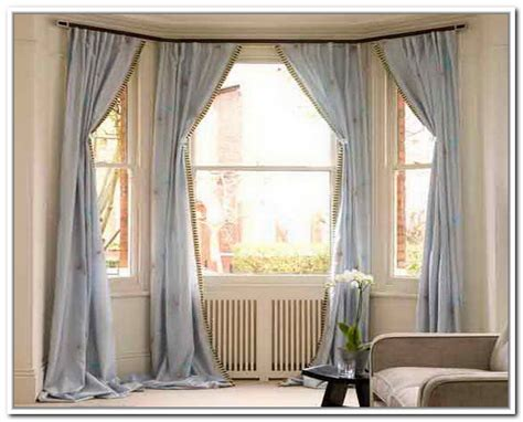 how to drape a bay window top 2 drapes for bay windows homesfeed