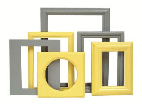 yellow and grey home decor picture frames by 17 best images about grey and yellow bathroom on pinterest