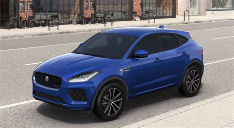 jaguar colors jaguar e pace 2018 couleurs colors