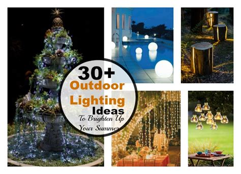 Outdoor Light Up Decorations - 30 cool diy outdoor lighting ideas to brighten up your