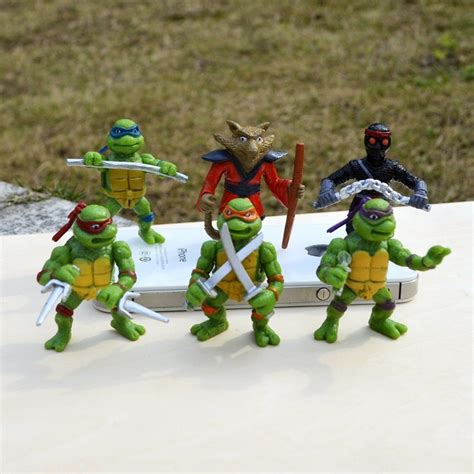 Mainan Figure Turles senjata mainan turtle setelan bayi