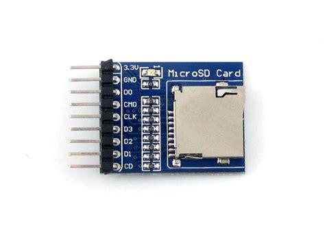 Cardreader Votre 1slot Microsd micro sd storage board micro sd card module