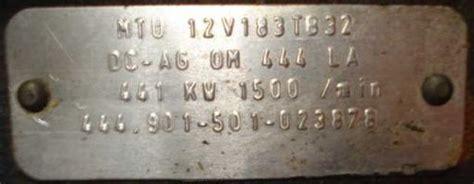 kva stromerzeuger mit einem mercedes  zylinder motor om  la