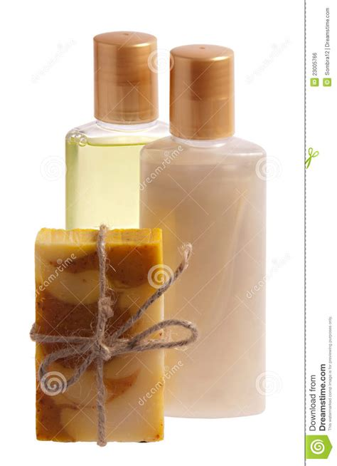 soap shoo and shower gel royalty free stock image