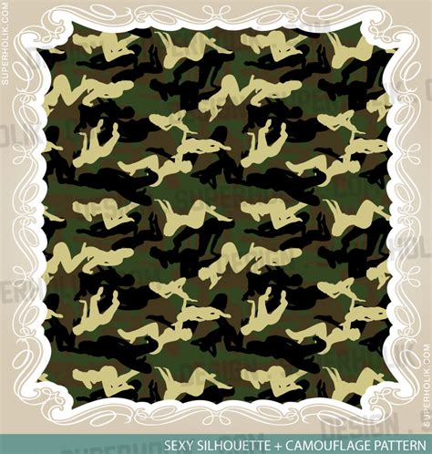 camouflage templates for painting camouflage pattern silhouette by superholik