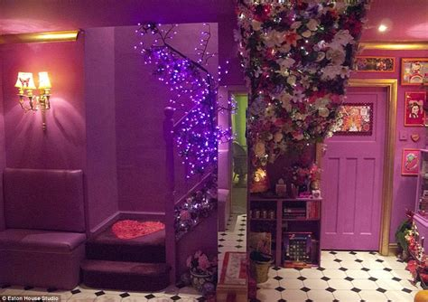 glitter wallpaper in essex eaton house is a bright pink essex mansion at 163 2k a night