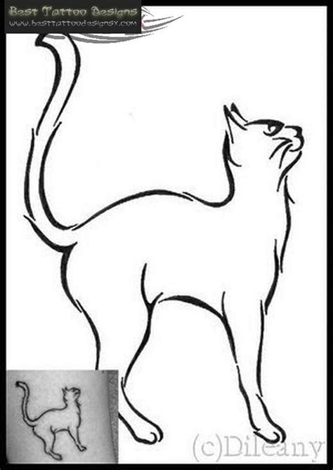 cat tattoo line drawing 19 best images about tats on pinterest zelda simple