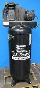 u s general vertical air compressor 60 gallon 130 psi max ebay