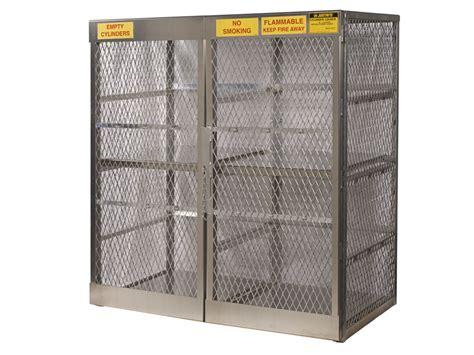 gas cylinder storage cabinets propane tank storage gas