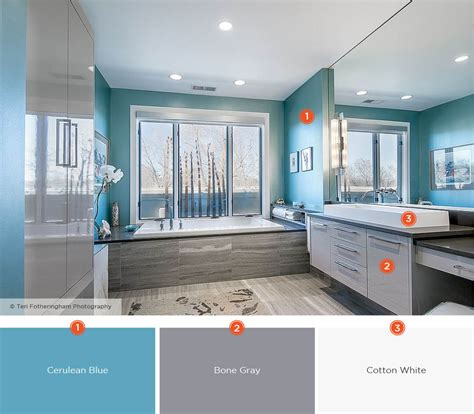 Blue Bathroom Color Schemes by 20 Relaxing Bathroom Color Schemes Shutterfly