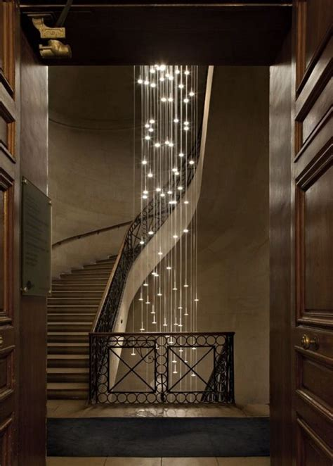 Staircase Chandelier Lighting Ideas You Can For Your Home