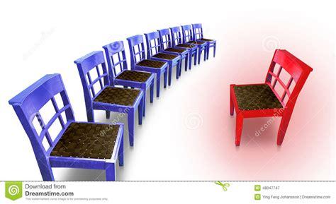 Hei 223 Er Stuhl Stock Abbildung Bild 48047747