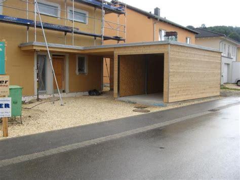 garage verkleiden bau blox carport und garage