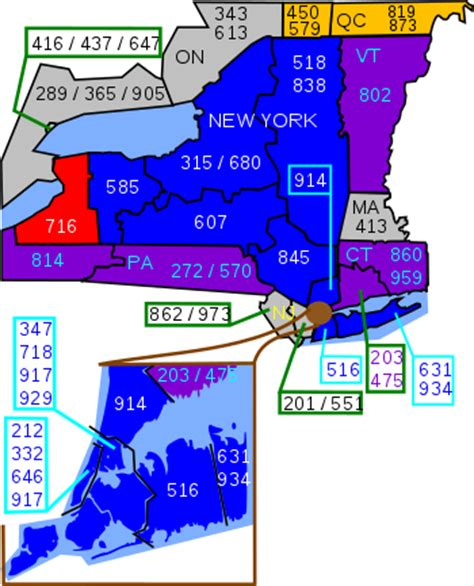 416 Area Code Lookup Area Code 716