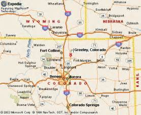 map of northern colorado cities greeley co pictures posters news and on your