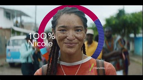 whos on the cadalliac commerxial 23andme tv commercial 100 nicole journey song by
