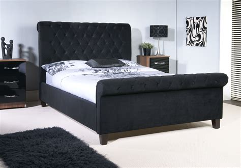 black bed cardiff bedstore hotel style bed high headboard