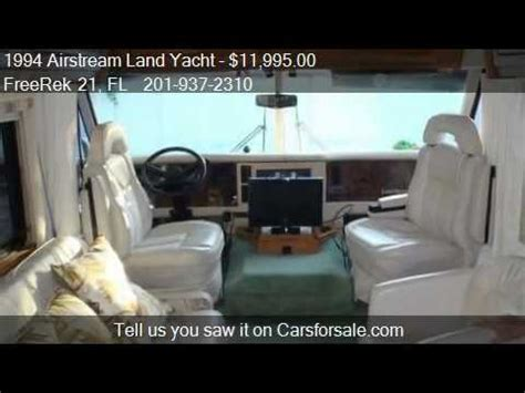 1994 airstream land yacht for sale 1994 airstream land yacht for sale in vero fl