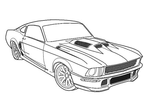 coloring pages cars mustang free printable coloring pages mustang car cooloring
