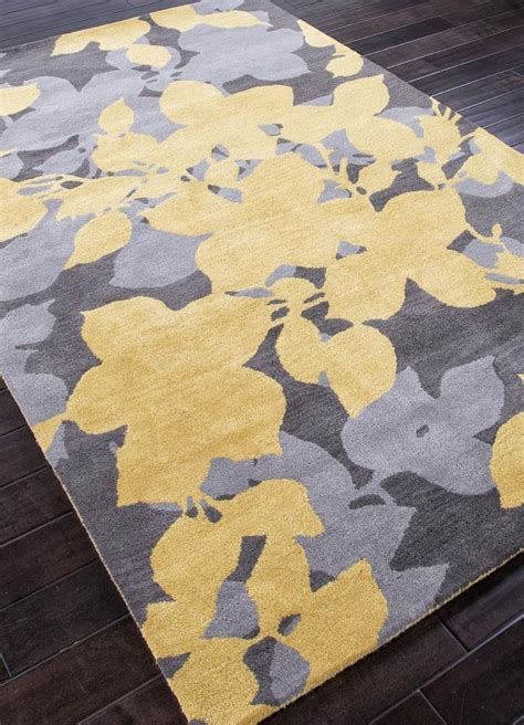 Yellow And Gray Area Rug Beautiful Interior Gray And Yellow Area Rug For Household With Pomoysam