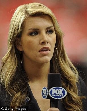 nfl female reporters brown hair fox sports anchor charissa thompson hits out at sexism in