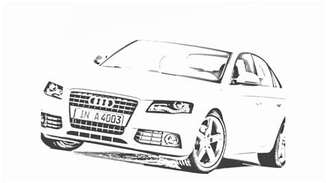 auto draw auto draw 2 audi a4