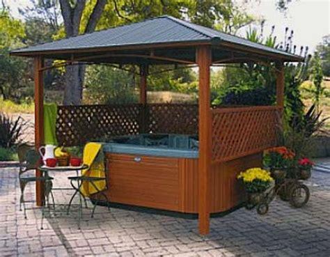 backyard hottub backyard patio ideas with hot tub landscaping gardening ideas