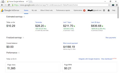 adsense my account types of adsense accounts