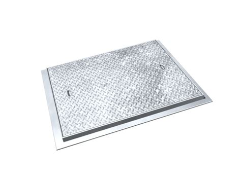 Plat Aluminium Uk Diameter 450mm chequer plate solid top manhole covers limited trade catalogue