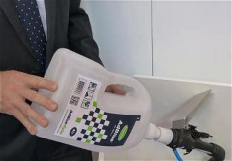 Dispenser Navara greenchem introduce non spill adblue can advisor