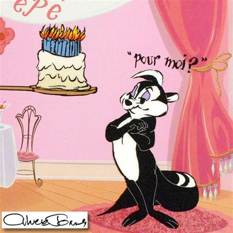 Pepe Le Pew Birthday Card Online Sports Memorabilia Auction Pristine Auction