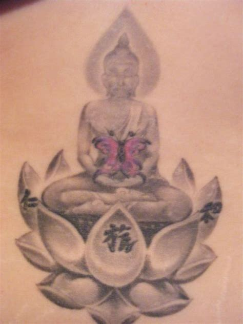 lotus tattoo thai my tattoos lower back thai buddha
