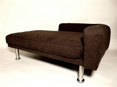 dog chaise bed bella cozy pet lounger bed cool dog beds at glamourmutt com