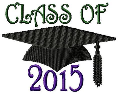 design embroidery 2015 class of 2015 embroidery designs machine embroidery