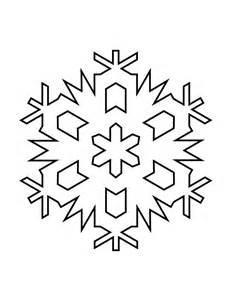 snowflake stencil template templates and sles