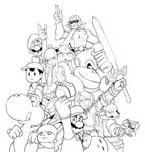 smash bros coloring pages smash bros coloring pages coloring home