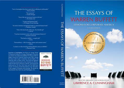Pdf Essays Warren Buffett Lessons Corporate warren buffett s timeless ten investing