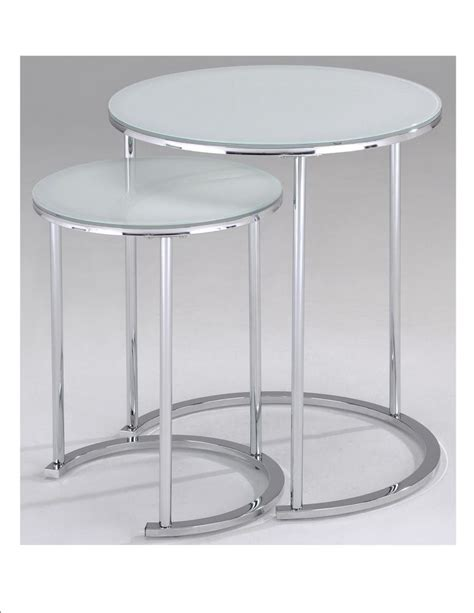 discount accent tables oslo 2pc accent table white 501 493wt canada discount