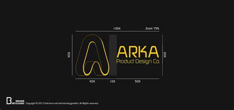 design a product logo arka product design co logo design on behance