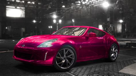 pink nissan nissan 370z pink the crew by blindmotherfucker on deviantart