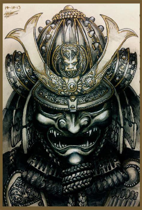 best 20 samurai helmet tattoo ideas on pinterest