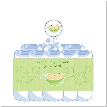 Three Peas In A Pod Baby Shower by Triplets Three Peas In A Pod Asian Baby Shower Cake