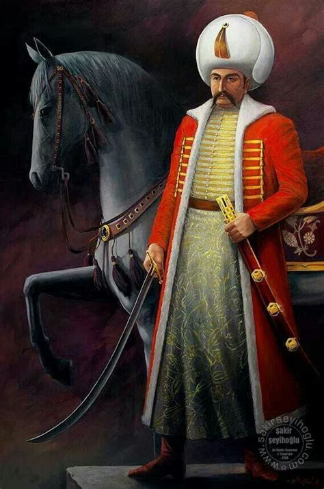Sultan Selim 1st The First Ottoman Halife Suleyman El