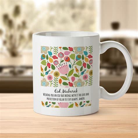 eid mubarak mug with personalised name and message