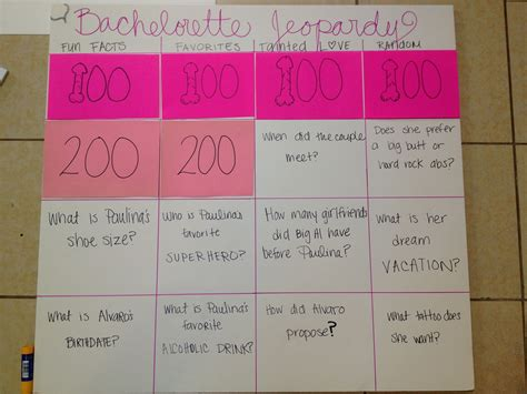 free printable bridal shower jeopardy game bachelorette party games bachelorette jeopardy