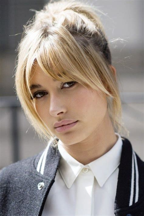 hairstyles with fringed sides best 25 layered bangs hairstyles ideas on pinterest