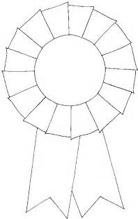 Rosette Template Printable by Blank Rosette