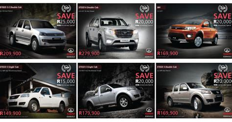 gwm motors south africa gwm suv it s gwm south africa s 10th anniversary gwm